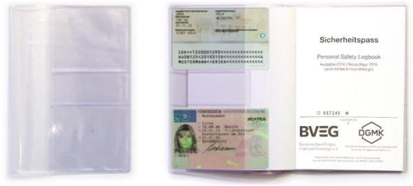 SIPA-Safe Premium Schutzhülle, mit 4 Visitenkartentaschen